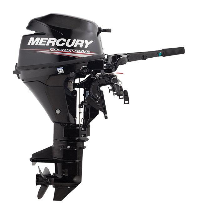 Boat motor : 4-stroke outboard motor 8 hp